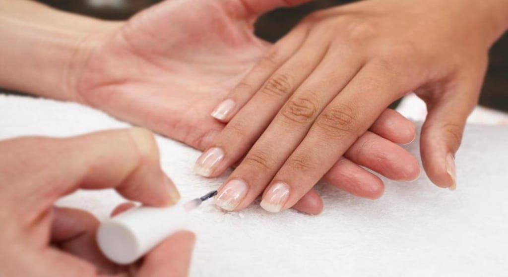 How To Rock Your Bare Nails.