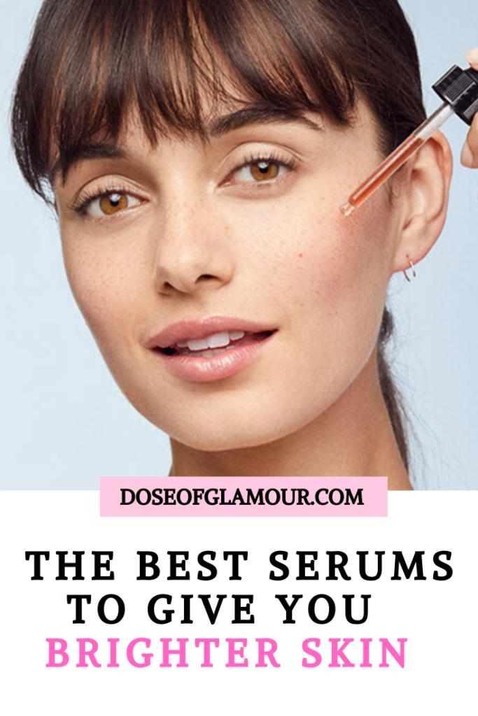 serums to brighten skin