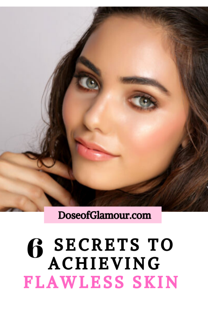 6 steps glowing skin