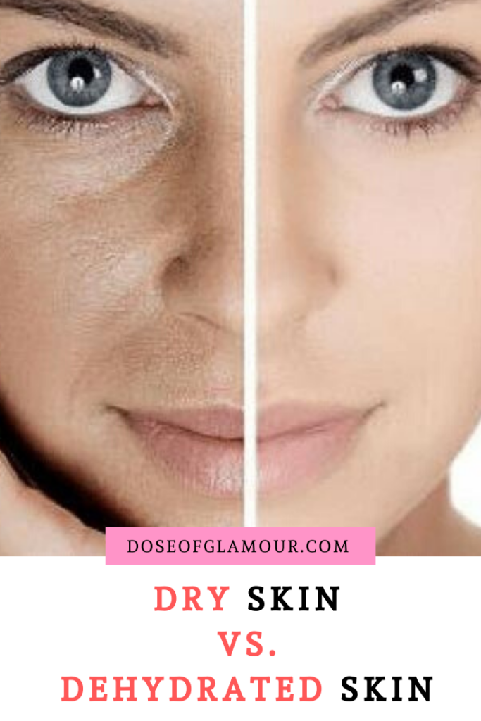 Dry vs dehydrated skin
